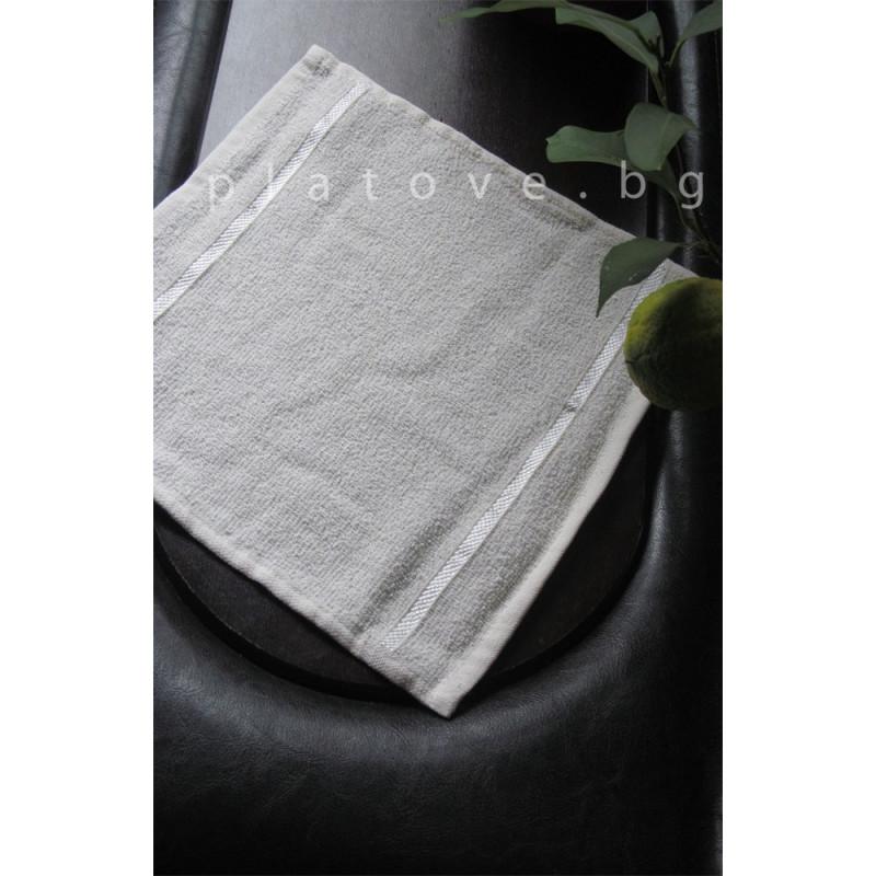 Домакинска кърпа 30х30 - Бяло